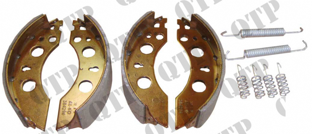 "Brake Shoe Ifor Williams 6"" - SET 4"